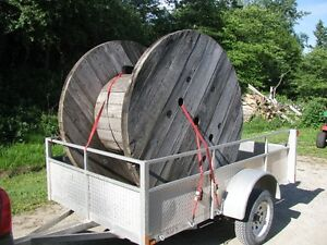 Jumbo Cable Spool Kitchener / Waterloo Kitchener Area image 1