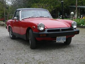 1975 MG Midget Convertable Roadster
