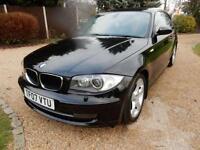 CHEAP CAR - 2007 07 BMW 1 SERIES 2.0 120I SE 3D AUTO 168 BHP DIESEL