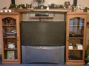 Free!! TV and Oak Cabinets  Peterborough Peterborough Area image 1