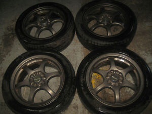 205/50/16 TIRE + MAGS JDM ACURA INTEGRA DC2 CIVIC 5X114.3