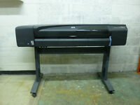 "Wide format printer/plotter HP Designjet 800ps 42"" for sale."