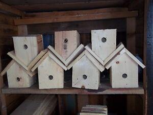 One dollar Bird houses