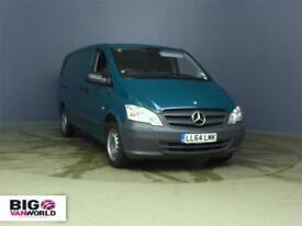 2014 MERCEDES VITO 113 CDI 136 BLUEEFFICIENCY LWB LOW ROOF AUTO VAN LWB DIESEL