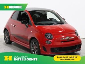 2015 Fiat 500c Abarth CONVERTIBLE A/C GR ELECT MAGS