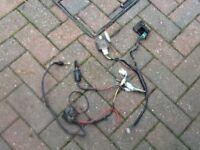 Pit bike wiring loom