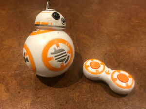 Star Wars BB8 remote controlled toy