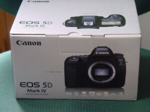 PRE BOXING DAY - CANON EOS 5D MARK IV BODY, Brand New In Box