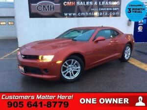 2015 Chevrolet Camaro LT w/1LT  MANUAL CAMERA 7 -TOUCH STREAMING