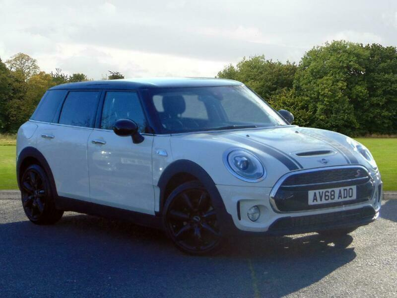 2018 Mini Clubman Clubman Cooper S Petrol White Automatic In