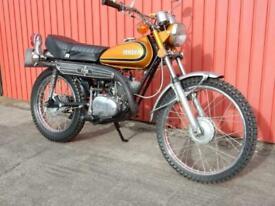 Yamaha CT175 Enduro 1973 171cc Matching Frame & Engine Nos.