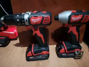 Brand New Milwaukee Compact Impact/Hammer Drill set $270 OBO