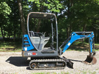 Terex TC 16-2 Mini excavator