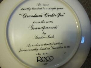 "Sandra Kuck ""Grandma's Cookie Jar"" Decorative Plate, Framed -$35 Kitchener / Waterloo Kitchener Area image 8"