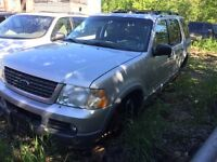 2002 Ford Explorer for parts