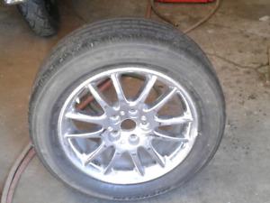 225/55R/17 Michelin Tire