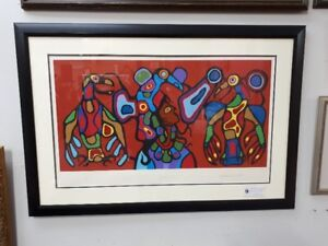 Norval Morrisseau Thunderbird's Spirit signed and numbered print