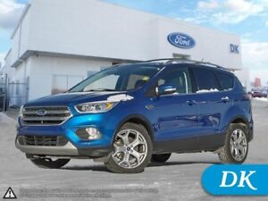 2017 Ford Escape Titanium AWD w/ Leather, Nav, Pano Roof, Heated