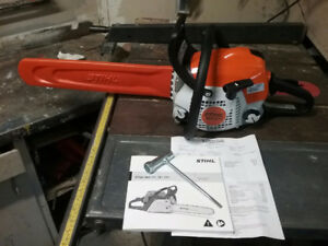 NEW stihl chain saw, save $100