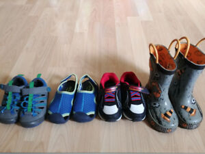Toddler shoes.