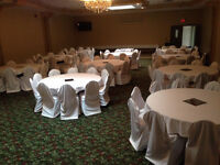 White Chair Covers $1