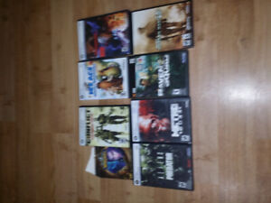 8 PC GAMES (MW2, Devil May cry,Metro 2033, and many more!)