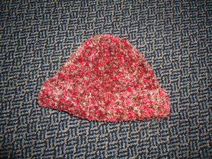 Ladies Toque in a very soft knit one size fits all