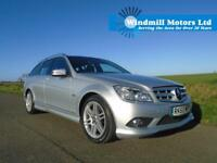 MERCEDES-BENZ C CLASS 2.1 C220 CDI BLUEEFFICIENCY SPORT 5DR ESTATE - MEGA SPEC!