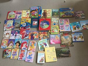 Princess books, educational books, Thomas the train, look nfund