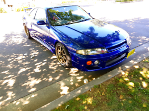 Nissan Skyline R33 Worked
