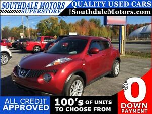2012 NISSAN JUKE SL * AWD * 1 OWNER * LEATHER * SUNROOF * BLUETO