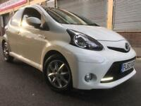 Toyota Aygo 2014 1.0 VVT-i Mode Multimode 5 door AUTOMATIC (a/c) LOW MILES, LED