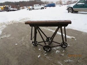 Vintage Hide cart saved from Tannery in Acton Ontario Kitchener / Waterloo Kitchener Area image 1