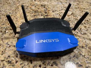 Linksys WRT1900ACS Dual Band WiFi Router - In Mint Condition