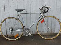 54 cm vélo de route pro tour pneus neuf pédale mise au point