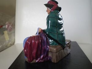 "Royal Doulton Figurine - "" Silks and Ribbons "" HN2017 Kitchener / Waterloo Kitchener Area image 3"