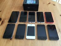 Apple iPhone's x 11 (FAULTY SPARES or REPAIRS)