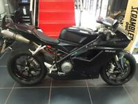 DUCATI 848 DARK STEALTH. VERY RARE BIKE WITH ONLY 4600 MILES FROM NEW !!