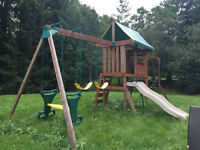 Great Cedar Swingset