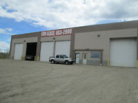 Warehouse/Shop/Yard Space for Lease in EDSON-  1250- 9000 sq.ft.