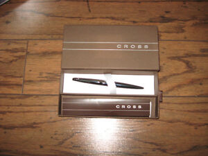 NEW CROSS PURE CHROME QUALITY BALL POINT PENS
