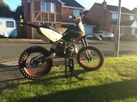 Crf70 big wheel race pit bike/dirt bike