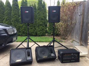 PA System For Band