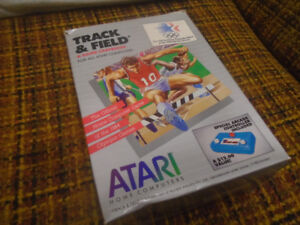 Atari Track and Field video game