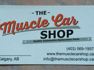 The Muscle Car Shop - Quality restoration parts