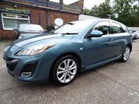 Mazda 3 1.6 TAMURA (1 OWNER + LOW RATE FINANCE AVAILABLE) (blue) 2010
