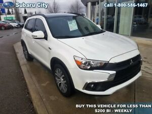 2017 Mitsubishi RVR GT,AWD,LEATHER,SUNROOF,BLUETOOTH,BACK UP CAM