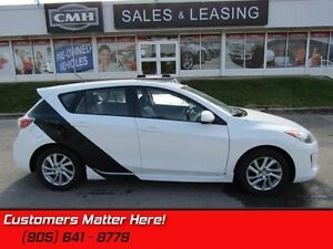 2012 Mazda Mazda3 GS-SKY  LEATHER, SUNROOF, GROUND AFFECTS!