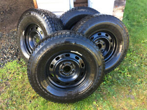 Dodge  Ram 1500  Winter tires and rims