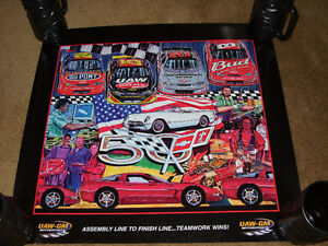 4 NASCAR Team Chevrolet Sam Bass Prints London Ontario image 1
